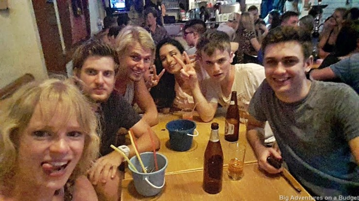Drinks in Bangkok with dorm roomates