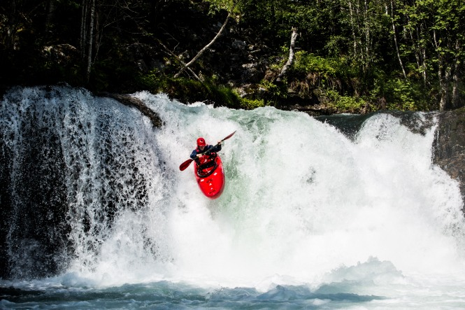 White water in Voss