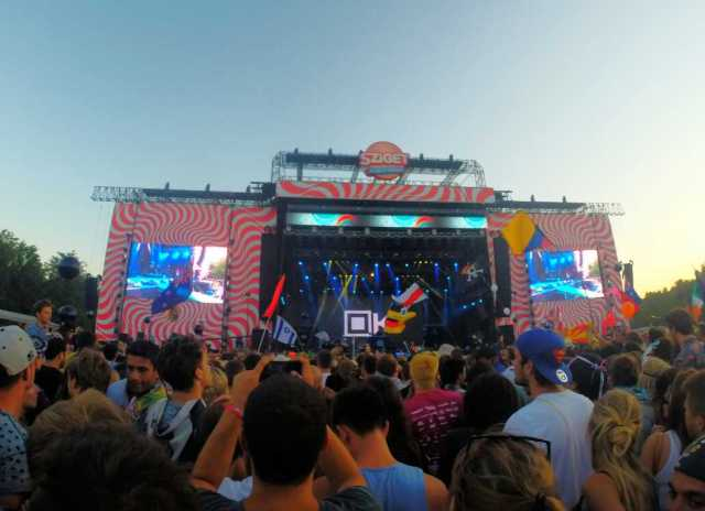 Sziget festival stage