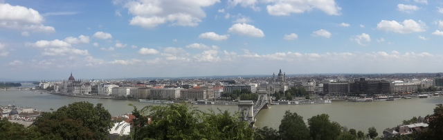 View of Pest from Buda side