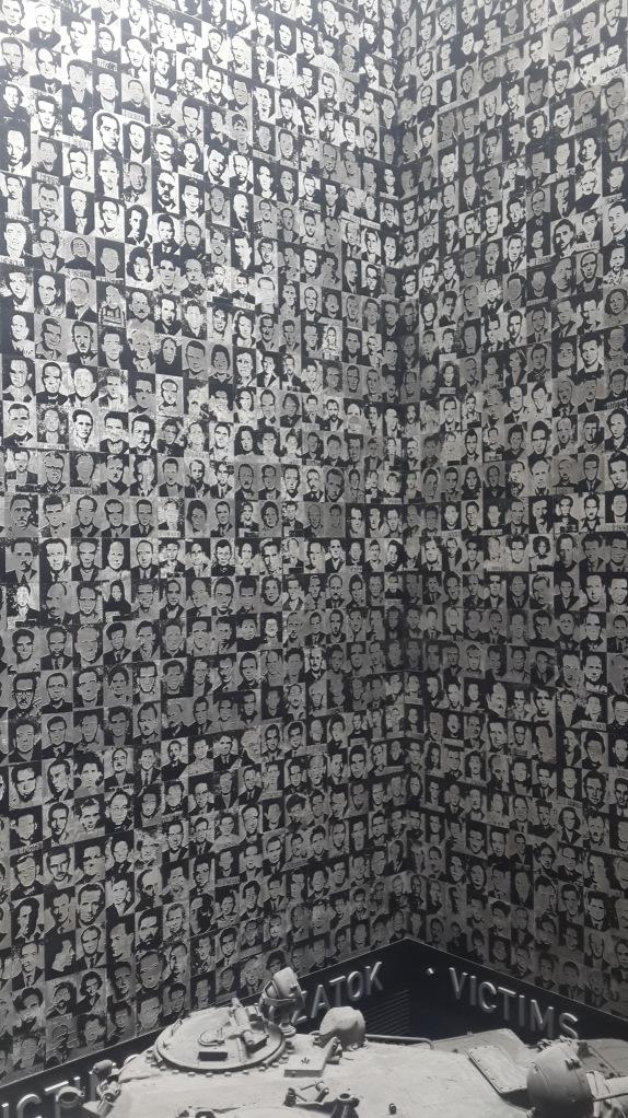 Wall of victims