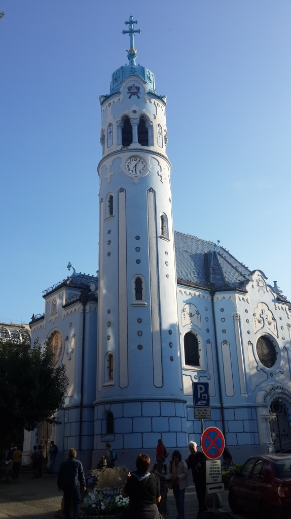 St. Elisabeth blue church