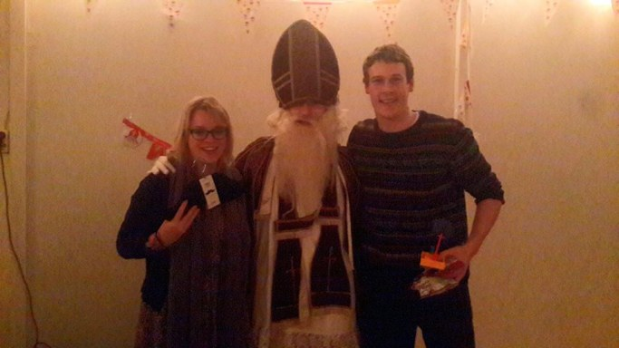 Celebrating Dutch Christmas with Sinter Klaus