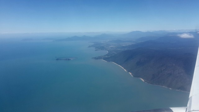 Cairns from the plane