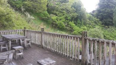 Balcony of the accommodation